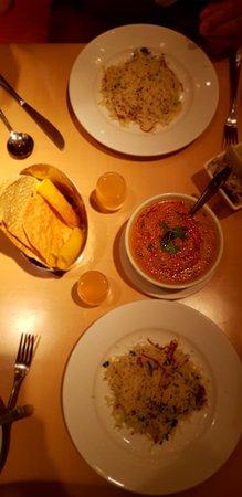 Ushna: Dal tadka and Jeera rice