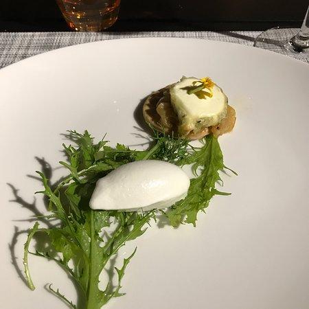 Dessert mousse citron sur biscuit croustillant photo de - Les jardins de l enclos portet sur garonne ...