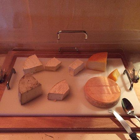 Auberge du Lac: 6 sortes de fromages
