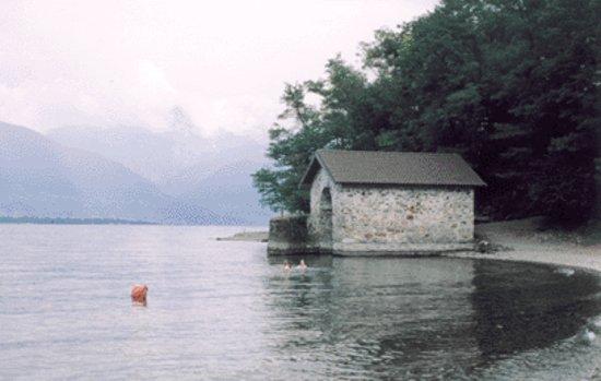 Pino Lago Maggiore, Italien: Lido di Zenna