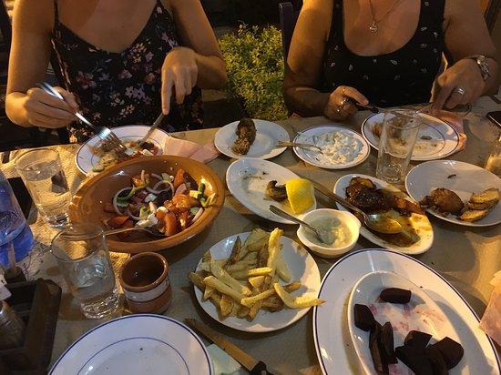 Kalithies, Grécia: Meze