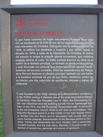 Palacio de la Merced: Informação