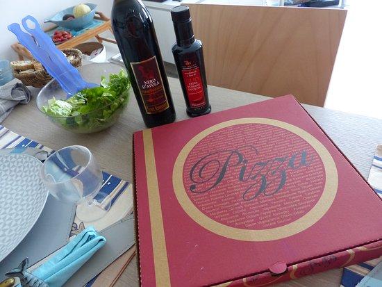 Perros Pizzas: à emporter avec un bon vin italien