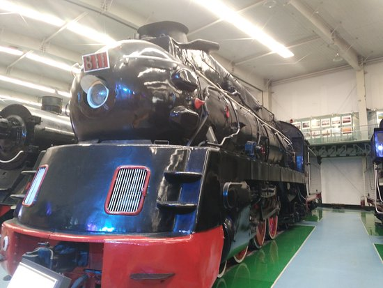 1920's engine at Shenyang Locomote Museum