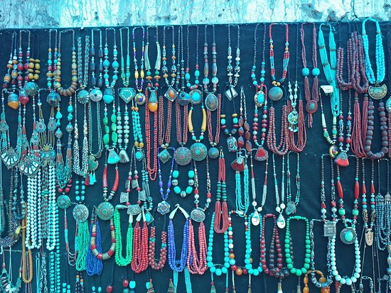 Alchi Monastary: Local jewelry
