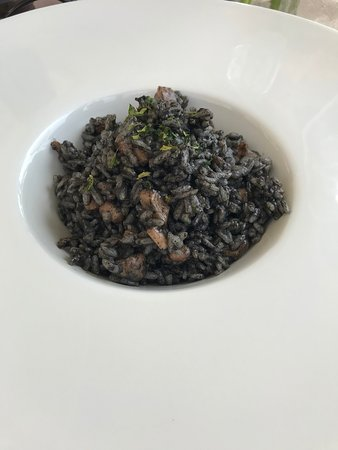 Fameja: Risotto w squid ink