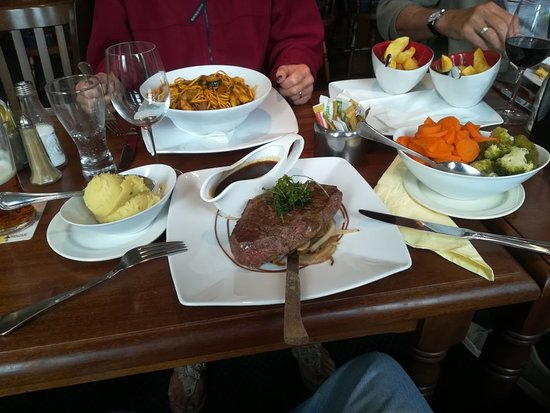 Clondra, Irlandia: Sirloin steak