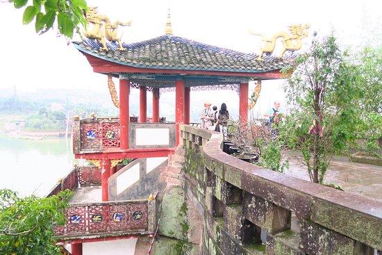 Zhong County, China: Descent is far far easier!