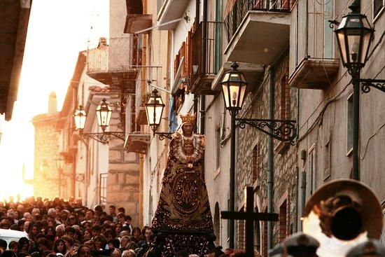 Processione Madonna della Maccia Buonalbergo BN