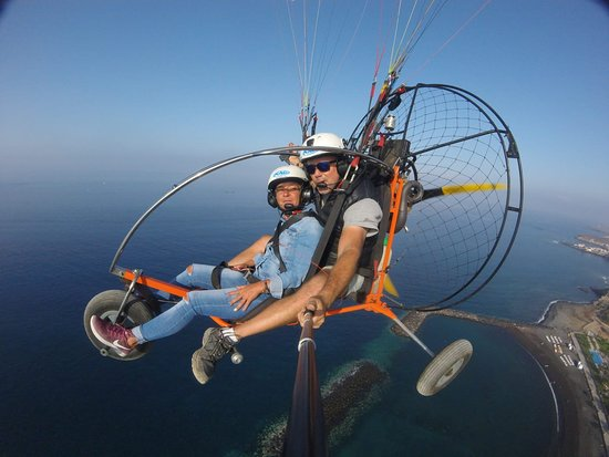 Fotovuelo Paragliding