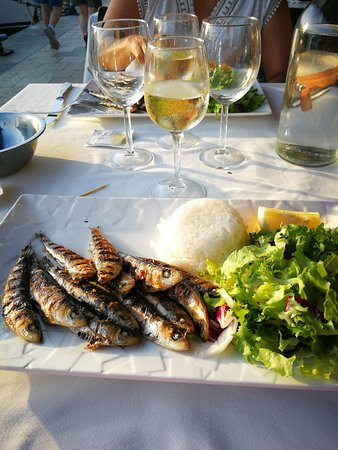 Restaurant Bosco: Sardines grillés