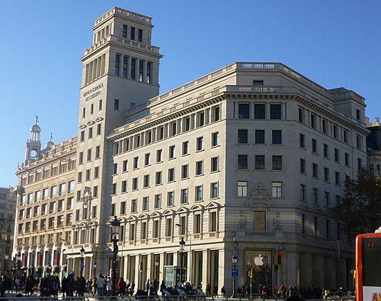 Dom Picture Of Banco Espanol De Credito Barcelona Tripadvisor