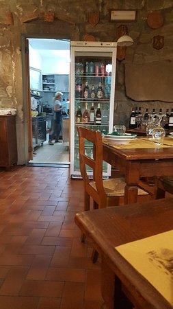 Mercatale, Itália: Weer heerlijk gegeten bij Mimmi!