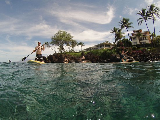 Maui Surf Lessons: Paddle Boarding