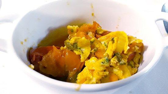 Osteria Ophis: Frittata in trippa dello chef