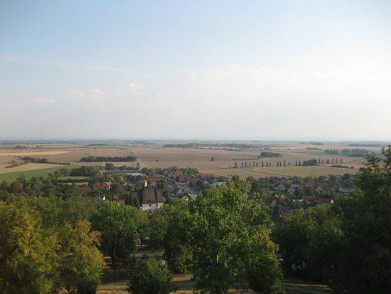 Chateau Mcely: vue du belvédère