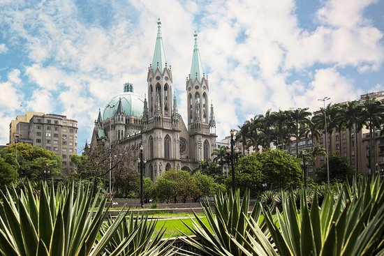 Fun fact: Over 800 tons of rare marble were used to construct the Catedral da Se de Sao Paulo!