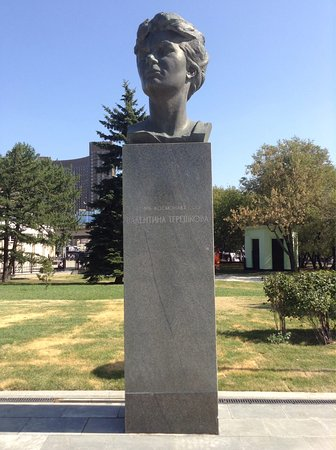 Monument-Bust to Tereshkova