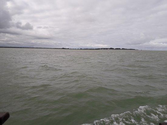 Bateau de la Baie de Somme: Vue du bateau sur le Hourdel
