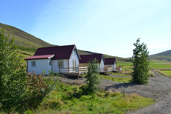 "Borgarnes, Island: Accommodation ""Beautiful cottages between mountain and river"""