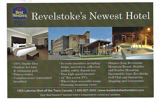 Best Western Plus Revelstoke: Hotel Information