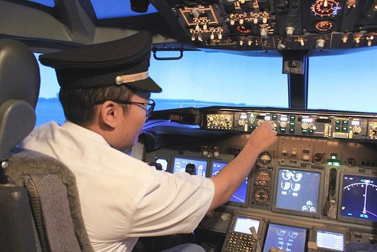 AirCREW Sensation - Flight Sim Experience Be A Captain