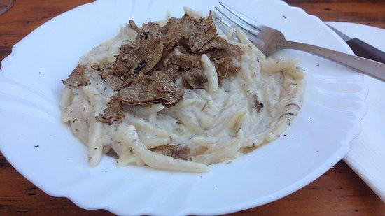 Karojba, Croatia: Hausgemachte Nudeln mit Trüffel
