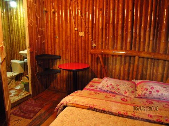 Palestina, Colombia: Habitación sencilla con cama doble, baño privado y ducha caliente