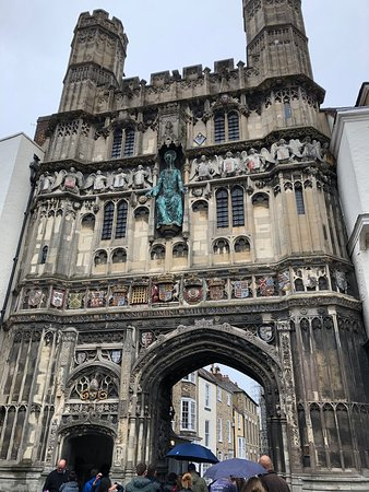 1a7c276690ed Main entrance to Cathedral - Picture of Canterbury Guided Tours ...
