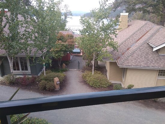"""Poets Cove Resort & Spa: """"stunning ocean and island view""""; NOT"""
