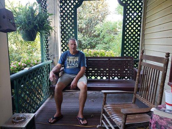 The Lattice Inn: Enjoying the view