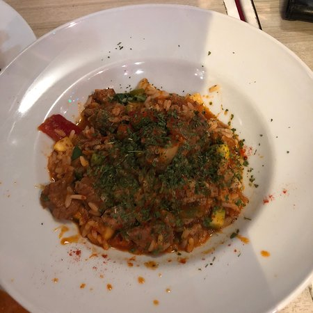 local spot goulash and chicken paprika