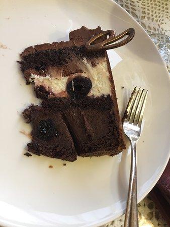 Cake at Veronica in Lviv