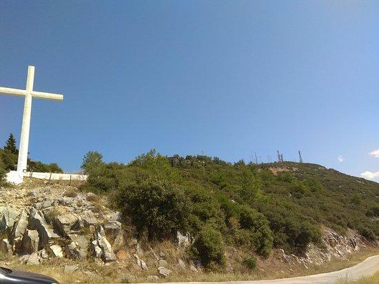 Drama, Greece: Ψηλά στη κορυφή.