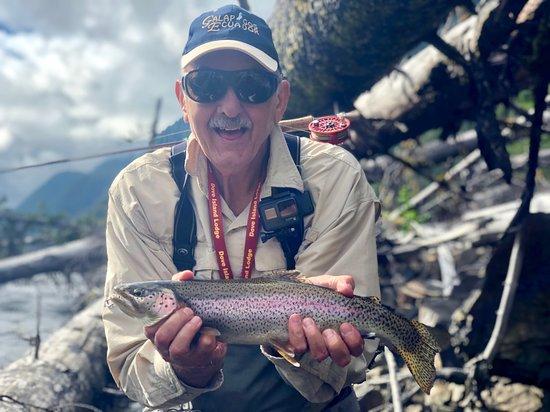 Dove Island Lodge: Beautiful Rainbow Trout