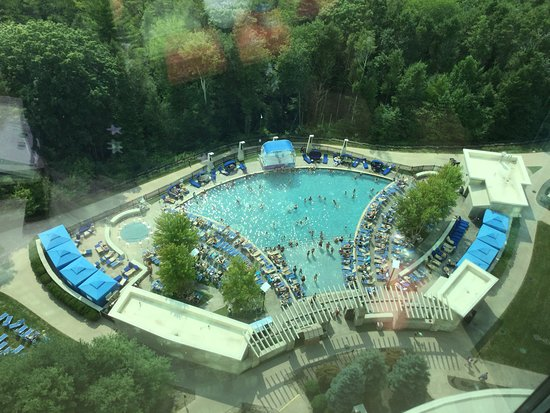 The Fox Tower at Foxwoods : My view from my room