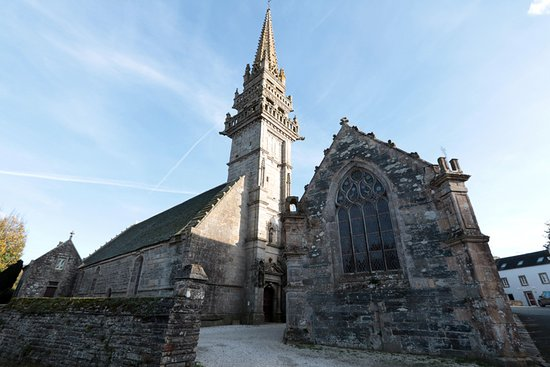 La Roche-Maurice, France: Eglise Saint-Yves