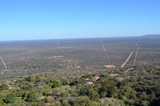 Waterberg Plateau Park, ناميبيا: Paysage depuis le plateau
