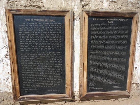 History of Nako monastery