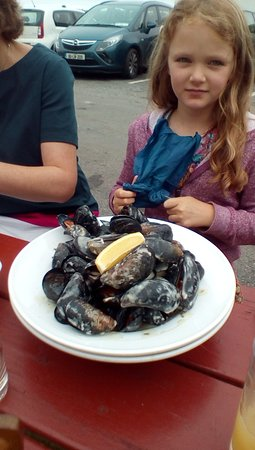 The Beach Bar Sligo / Aughris House: Mussels