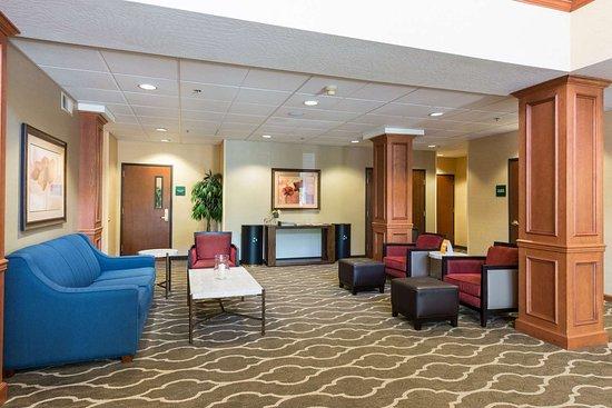 Springfield, Oregon: Hotel lobby