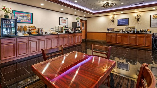 Best Western Regency House Hotel: Breakfast Area