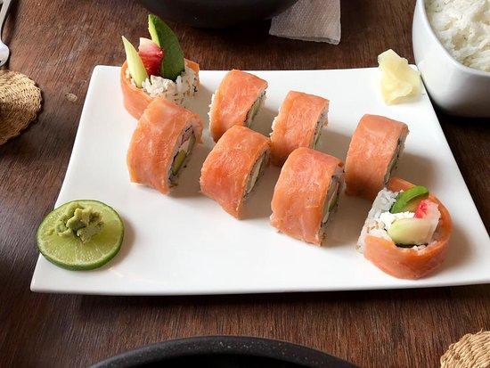 Kintaro: Salmon roll