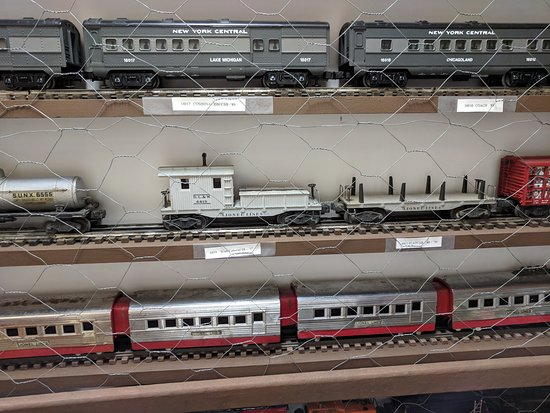 Train collection - Picture of The Right Track Toy Train