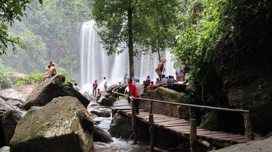 Phnom Kulen National Park: kulen waterfall