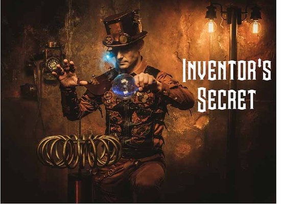 Inferno Escape Room: Inventor's Secret: Can you find and stop the secret invention before it goes haywire?!