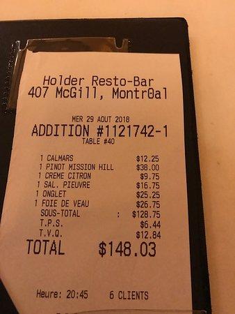 Restaurant Holder: worth every cent!