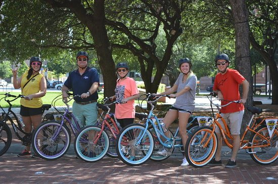 Elektrische fietstocht door Fort Worth