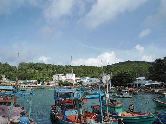 Nam Du Island, Vietnam: bến tàu Nam Du