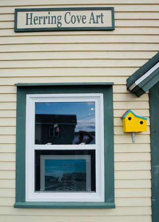 Detail, Herring Cove Art Gallery and Studio.